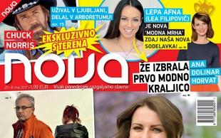 Chuck Norris: Užival v Ljubljani, delal v Arboretumu. Več v novi Novi!