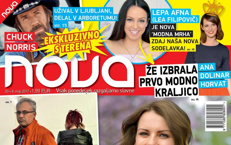 Chuck Norris: Užival v Ljubljani, delal v Arboretumu. Več v novi Novi! (foto: Nova)