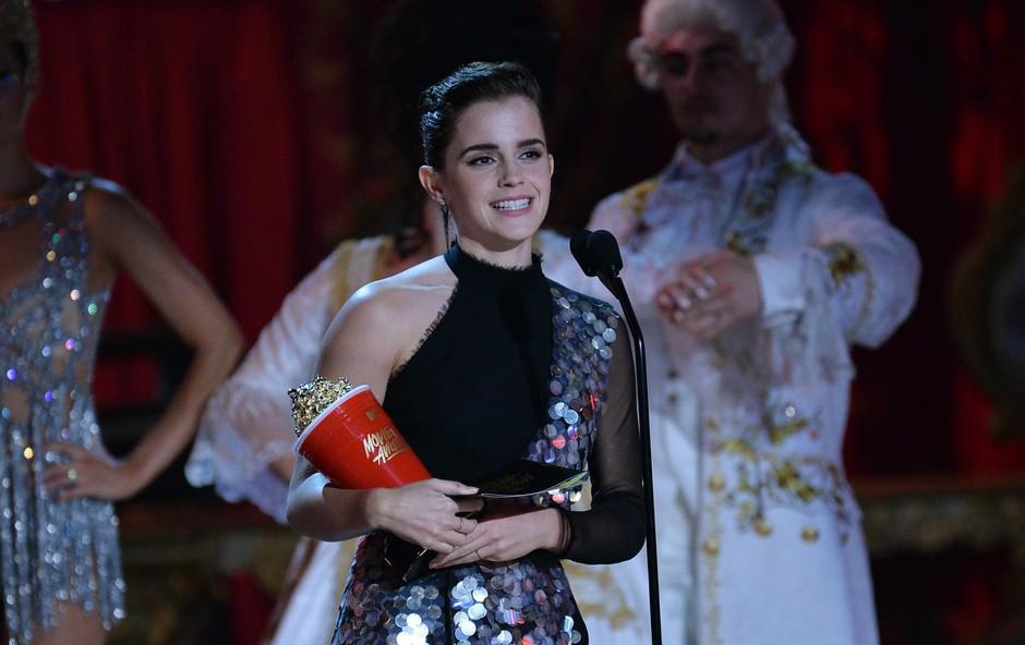 Emma Watson: MTV je naredil pomemben korak za človeštvo (foto: profimedia)
