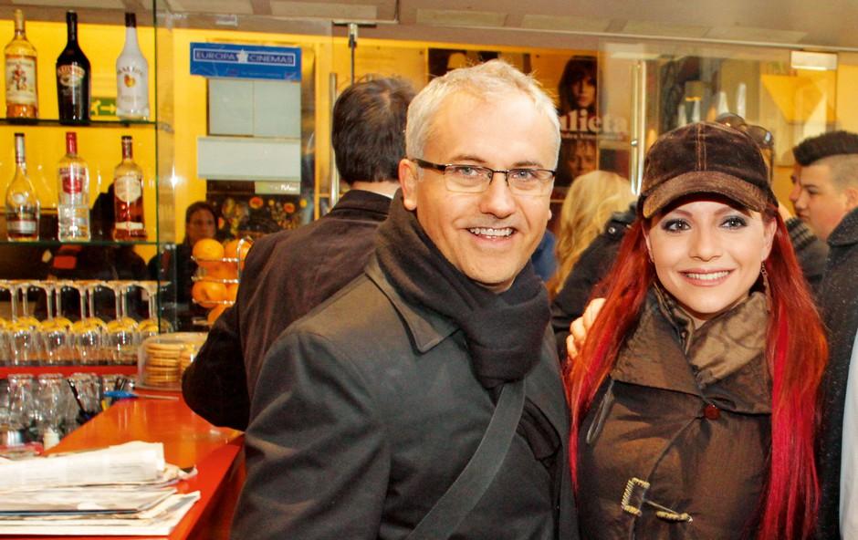 Tanja Žagar in Miki Šarac: Vedno skupaj, poslovno in zasebno (foto: Goran Antley)