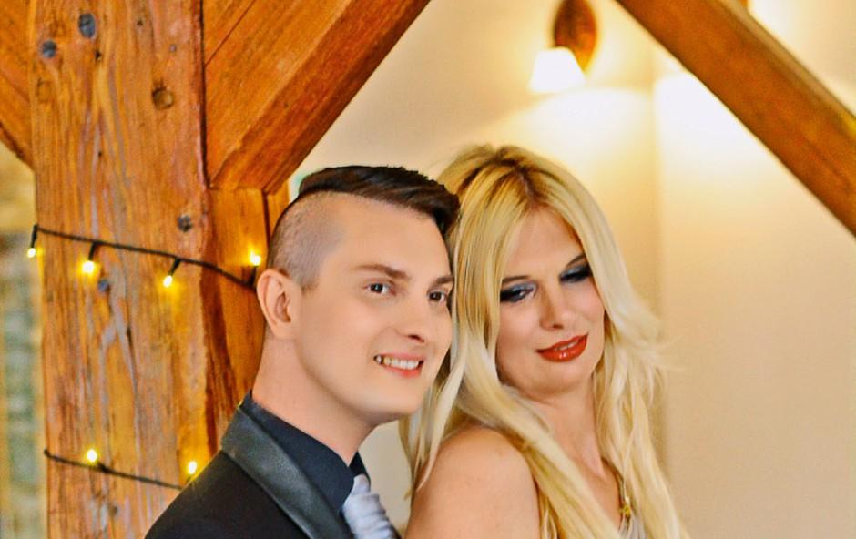 Damjan Murko proslavil že 9. obletnico poroke (foto: Miha Palir)