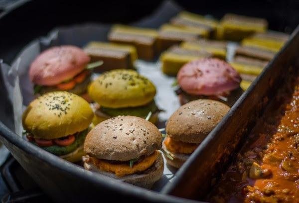 Na Pogačarjevem trgu so v soboto dišale drugačne jedi (foto: Vegafest Press)