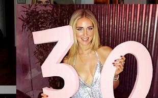 Blogerka Chiara Ferragni se je zaročila na 30. rojstni dan!