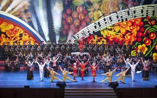 Svetovno znani Zbor, Orkester in Balet Rdeče Armade Alexandrov prihaja v Ljubljano
