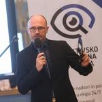 Aleksander Zupančič je poudaril, da uspeh podjetja temelji na dobrih medsebojnih odnosih. (foto: Barbara Reya)