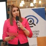 Bernarda Škrabar, direktorica Detektivsko varnostne agencije, je pozdravila goste. (foto: Barbara Reya)