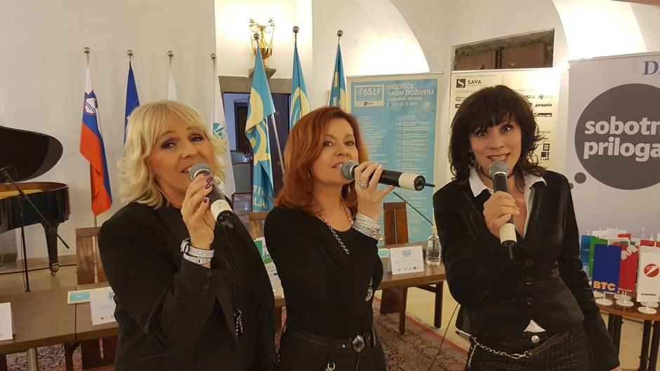 Mamma Mia! s stoto predstavo v Križankah (foto: Mamma Mia Press)