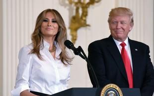 Melania Trump je na začetku razmerja jezno zapustila Donalda Trumpa