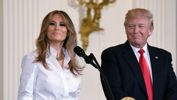 Melania Trump bo spremljala moža na poti v tujino (foto: profimedia)