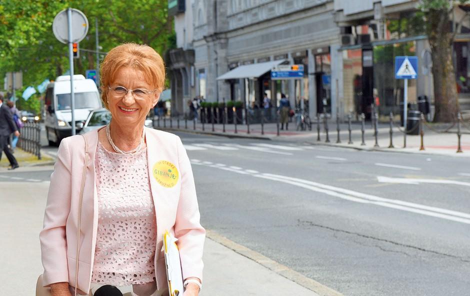 Metka Zevnik, podpredsednica stranke Glas za otroke in družine: Ustavimo odhod mladih! (foto: Tatjana Splichal)