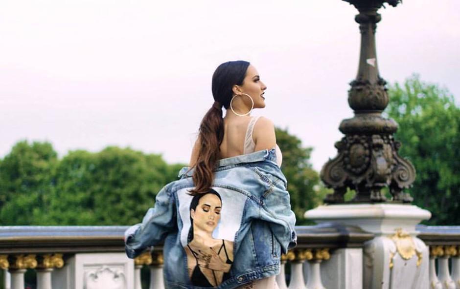 Hrvaška Kim Kardashian povzročila kaos v Parizu (foto: Lana Jurčevič PRESS)