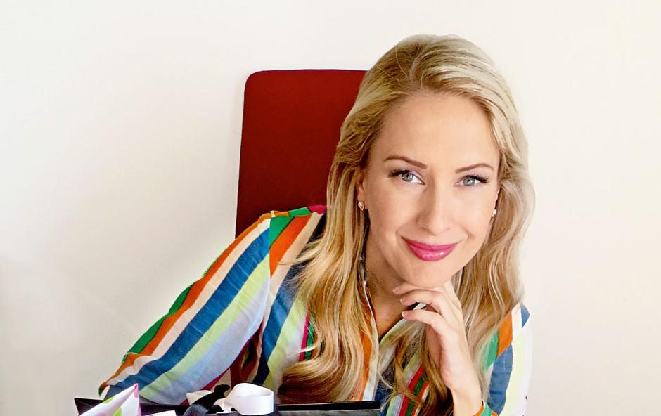 Maja Ferme: Tik pred porodom je bila vpeta v dobrodelni projekt (foto: I. K.)