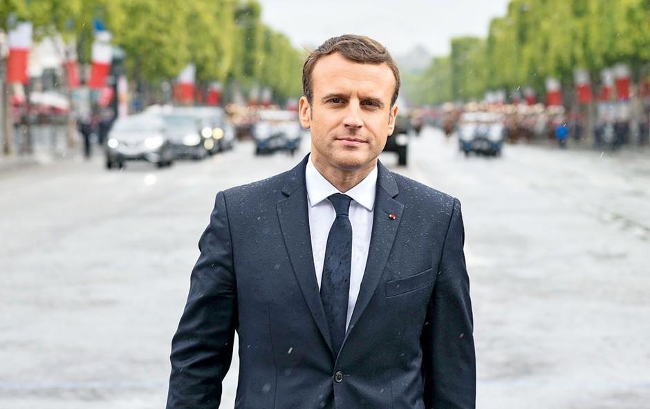 Emmanuel Macron: V njegovem življenju je le ena ženska (foto: Profimedia)