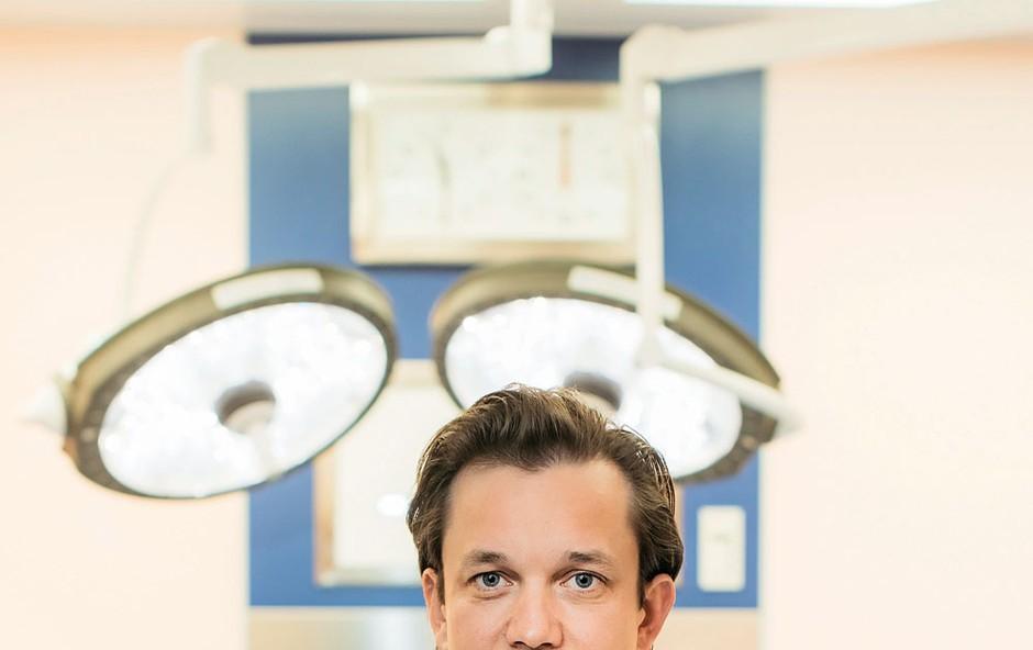 Estetska kirurgija: Cilj je zadovoljstvo in sreča pacienta (foto: Marko Dalbello Ocepek)