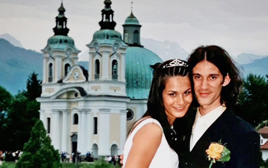 Renata in Primož Peterka: 14 let zakonskih vzponov in padcev (foto: osebni arhiv)