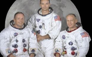 Torbo iz prve človeške odprave na Luno bodo prodali na dražbi