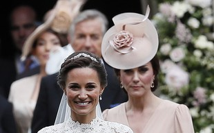 Pippa Middleton prvič na sprehodu z dojenčkom!
