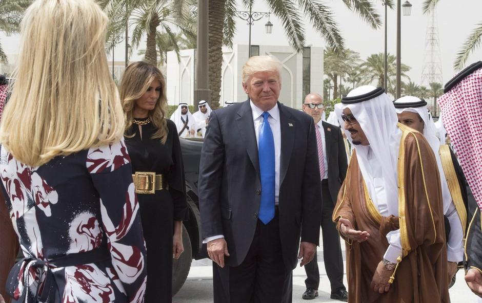 Ivanka Trump je obnorela mlade Savdijce (foto: profimedia)