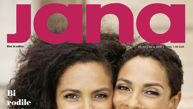 Irena in Leticia Yebuah: Ko si ranjen, potrebuješ sočutje. Več v novi Jani! (foto: Jana)
