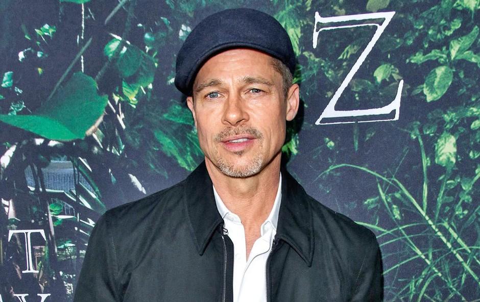 Brad Pitt že pol leta ne pije in ne kadi trave (foto: Profimedia)