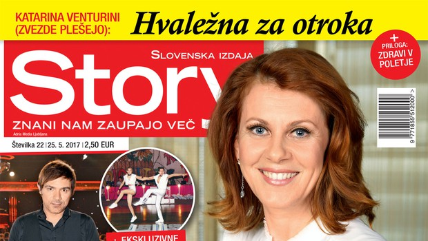 Katarina Venturini (Zvezde plešejo): Hvaležna za otroka. Več v novi Story!