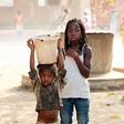 Maja Štamol Droljc za pomoč otrokom v Gvineji Bisauu