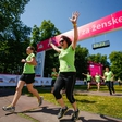 12. dm tek za ženske: zelena moč več kot 7.500 tekačic zavzela Ljubljano