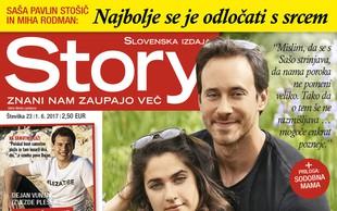 Saša Pavlin Stošič in Miha Rodman: O poroki še ne razmišljava. Več v novi Story!
