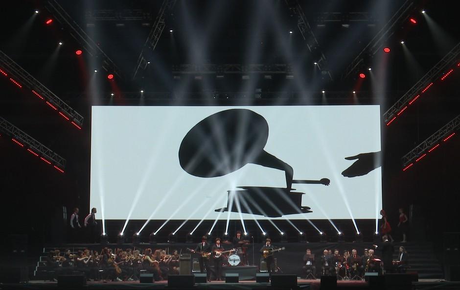 Pop Rock spektakel The Beatles Story v Hali Tivoli (foto: Bojan Rojko Press)
