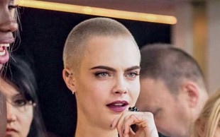 Cara Delevigne s frizuro proti lepotnim idealom