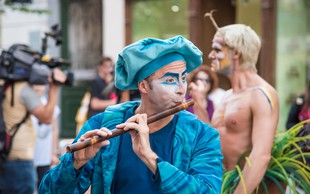 Cirque du Soleil zavzel ljubljanske ulice