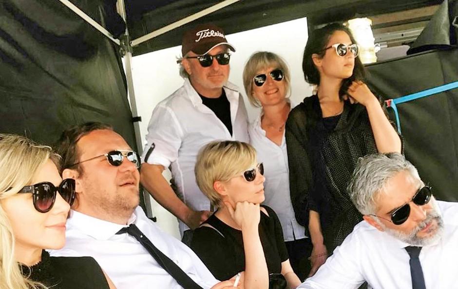 Katarina Čas odpotovala na snemanje v Veliko Britanijo (foto: instagram)