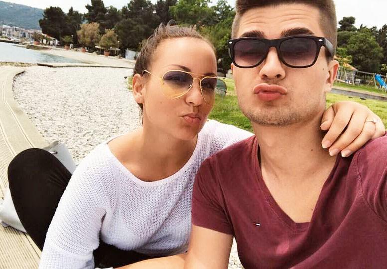 Ema Sladič & Jasmin Cerić: vroče zaljubljena in zaročena! (foto: osebni arhiv, Alpe)