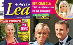 Emmanuel in Brigitte Macron - sodobna Romeo in Juliji! Več v Lei!