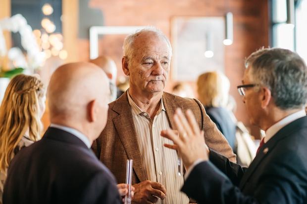 Restavracija Atelje gostila Billa Murraya na ekskluzivnem druženju s Slovenia vodko (foto: Marko Delbello Ocepek/Atelje)