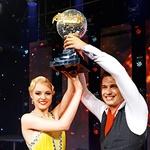Dejan in Tadeja sta postala prva zmagovalca oddaje Zvezde plešejo. (foto: Primož Predalič, osebni arhiv)
