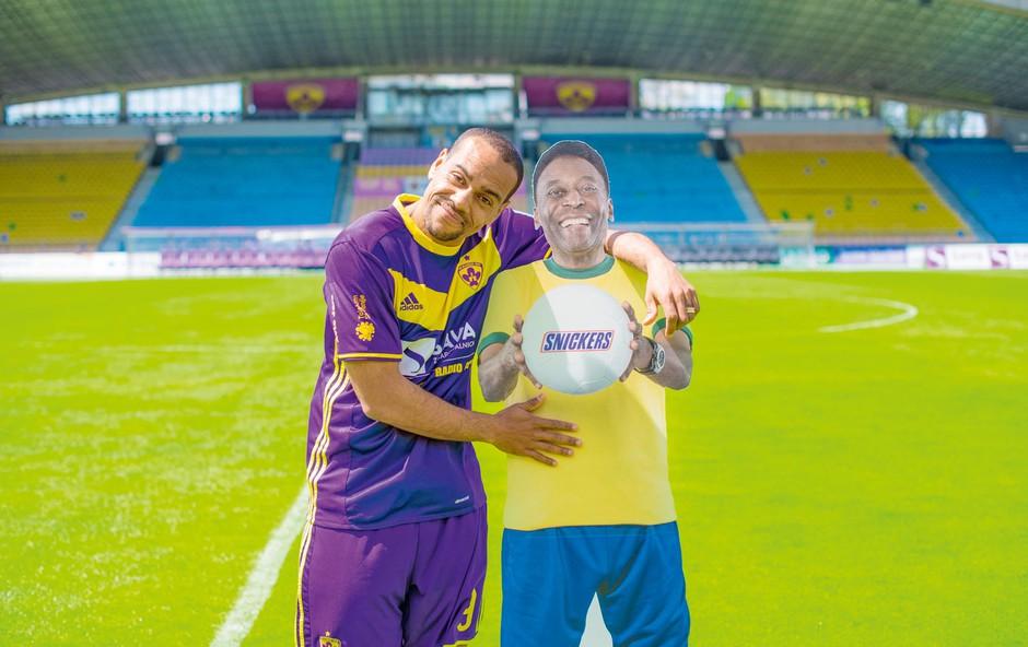 Tavares bo izbral trojico, ki bo spoznala slovitega Peléja (foto: Luka Rudman)