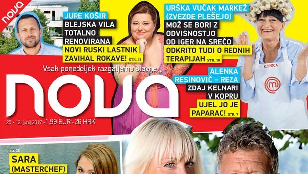 Miro in Marina (Ljubezen na deželi): Kmečka ohcet - razkrivamo vse! Več v novi Novi! (foto: Nova)