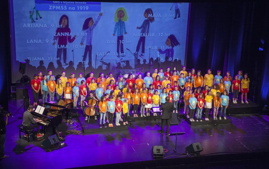 ZPMS s koncertom Otroci za otroke zbrala več kot 55.000 evrov! (foto: ZPMS Press)