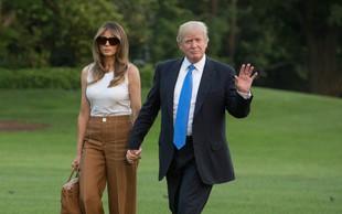 Melania Trump se je končno preselila v Belo hišo