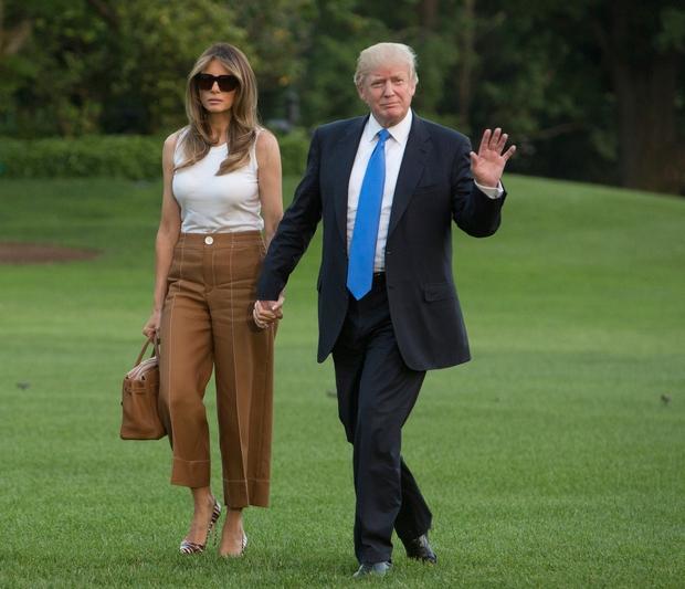 Melania Trump se je končno preselila v Belo hišo (foto: profimedia)