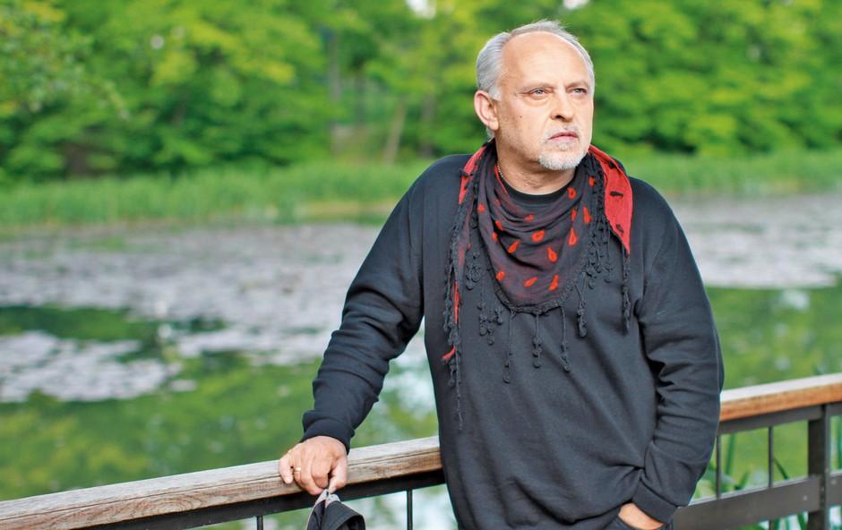 Feri Lainšček - največja pop zvezda med slovenskimi pisatelji (foto: Goran Antley)