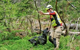 Pasji reševalci: Proces šolanja traja dve leti