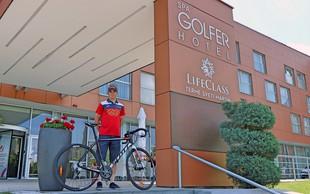 Luka Pibernik z dirke po Italiji na oddih v Medžimurje
