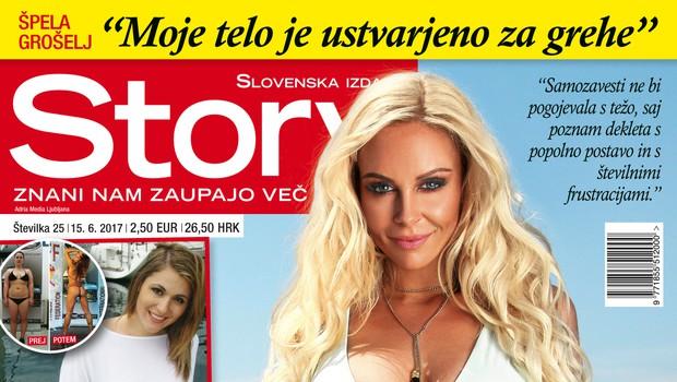 """Špela Grošelj: """"Moje telo je ustvarjeno za grehe!"""" Več v novi Story!"""