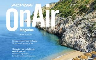 OnAir Magazine– revija za milijon potnikov