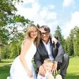 Peter Plesec in Anja Kontrec: Od snubitve v Parizu do poroke v Sloveniji