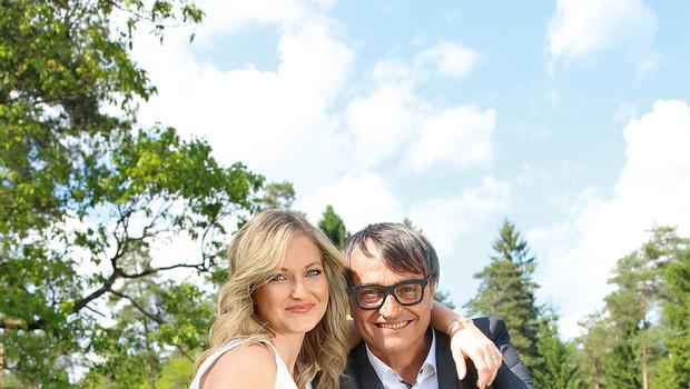 Peter Plesec in Anja Kontrec: Od snubitve v Parizu do poroke v Sloveniji (foto: Barbara Zajc)