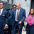 Bill Cosby: Na sojenje prišel z najmlajšo TV-hčerko