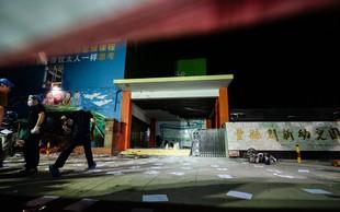 Pred vrtcem v kitajskem Fengxianu eksplodirala doma narejena bomba!